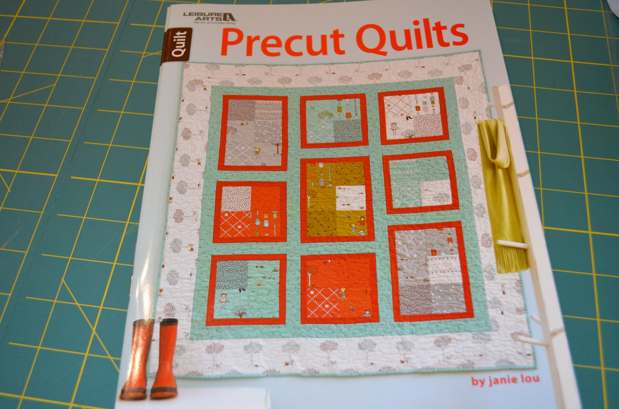 Pre Cut Quilts  LA5956  Book Leisure Arts