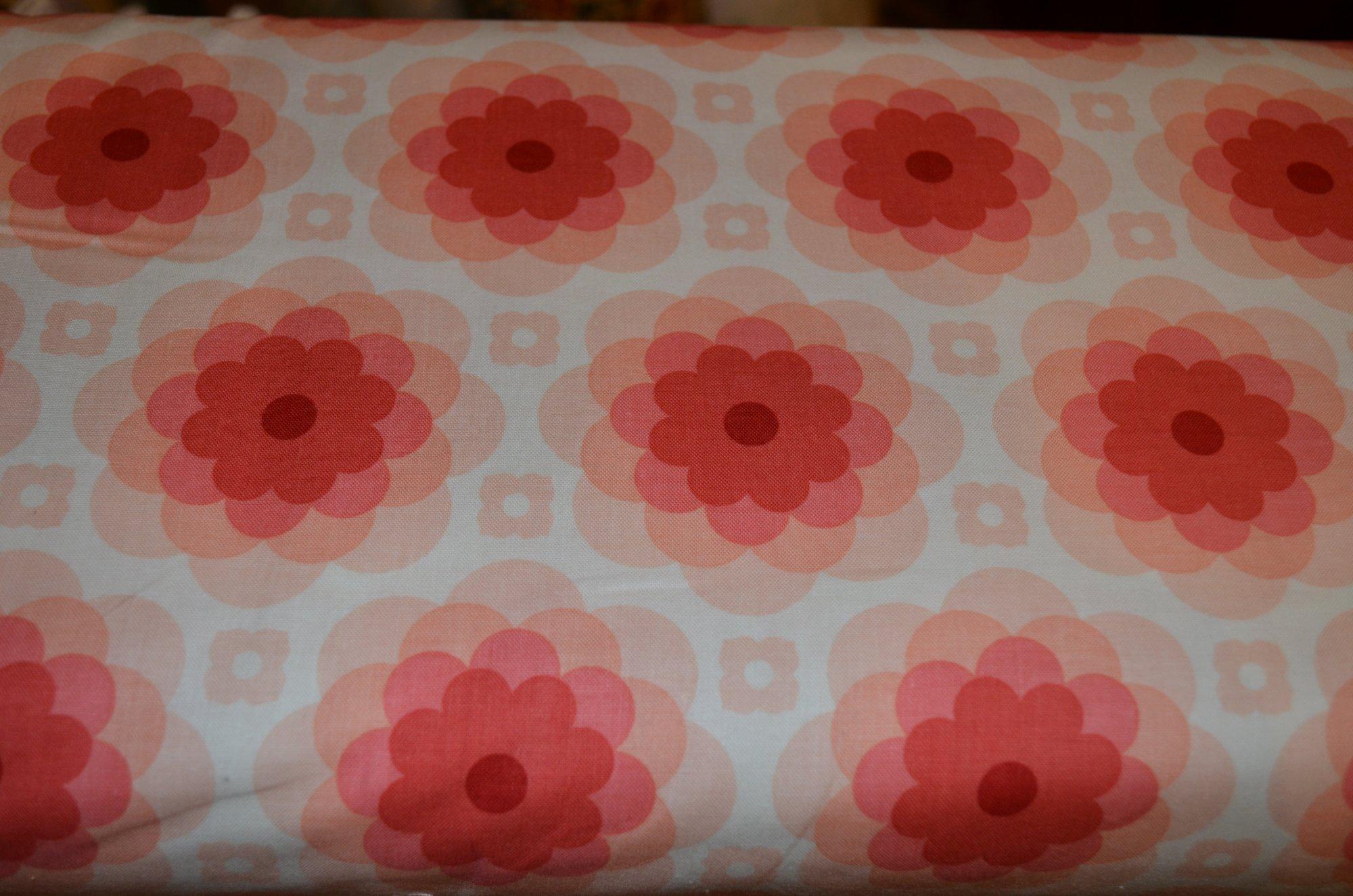 Free Spirit Florabelle  PWJD151SEDON Echo Bloom Peach Large flowers
