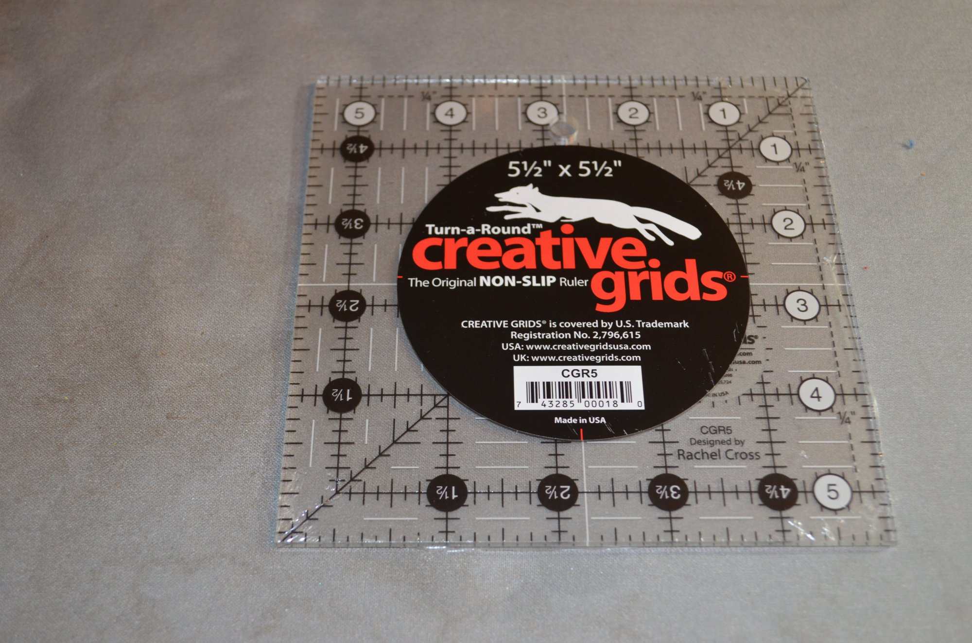 Creative Grids 5.5 X 5.5 Ruler CGR5
