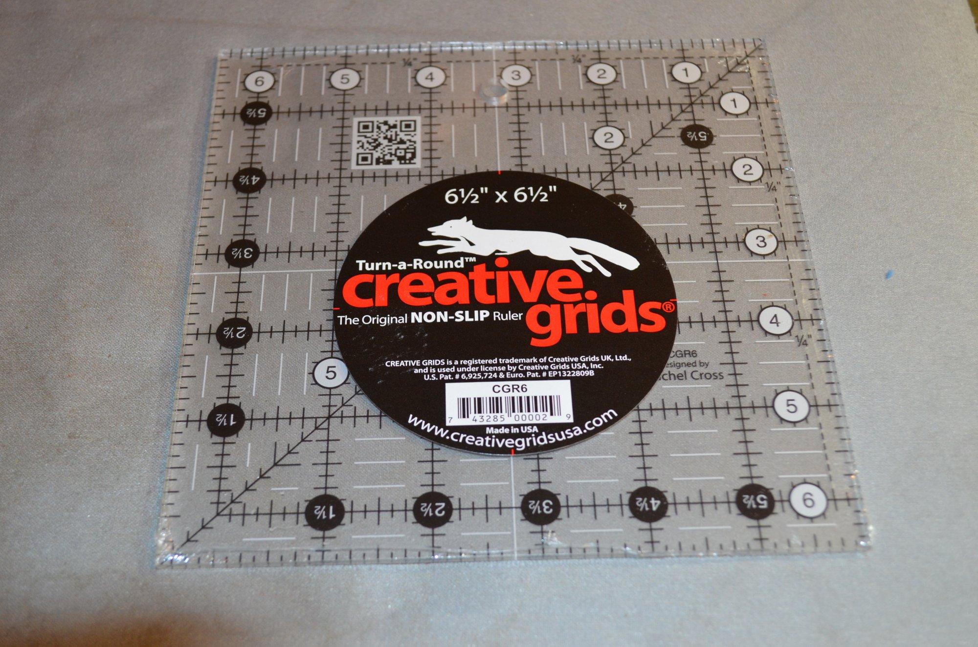 Creative Grids 6.5 X 6.5 Ruler CGR6