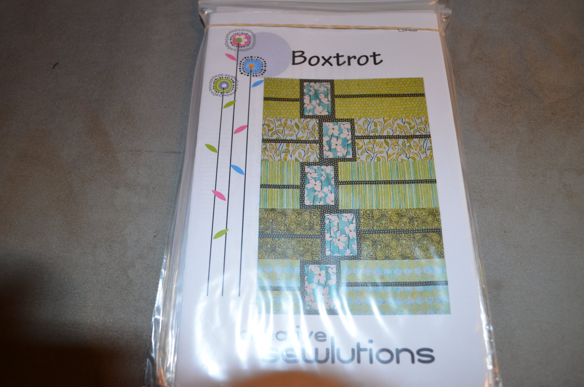 Boxtrot Pattern By Creative Sewlutions CS408
