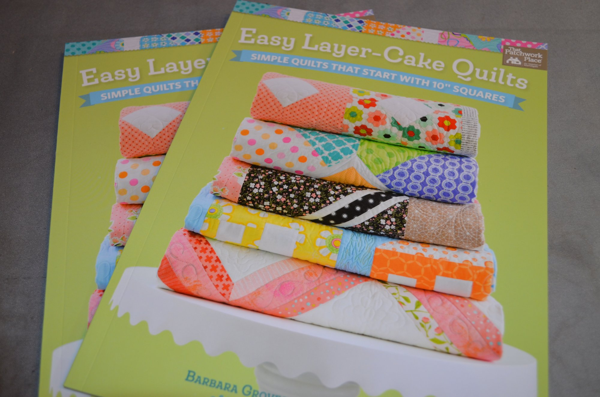 Easy Layer-Cake Quilts Book By Patchwork Place TPPB1418