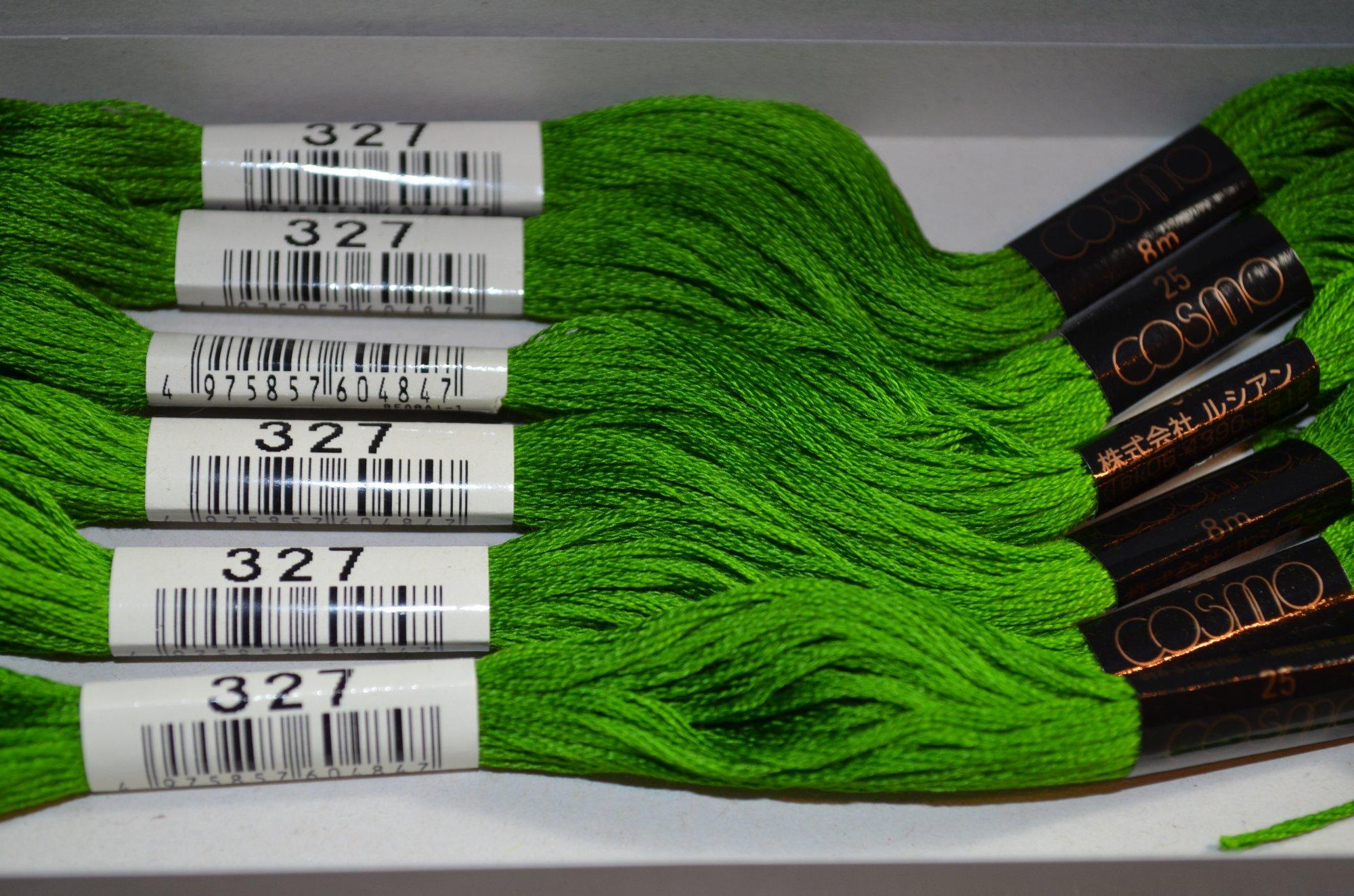 Cosmo Embroidery Floss 8.75Y  LEN2512-327  color 327