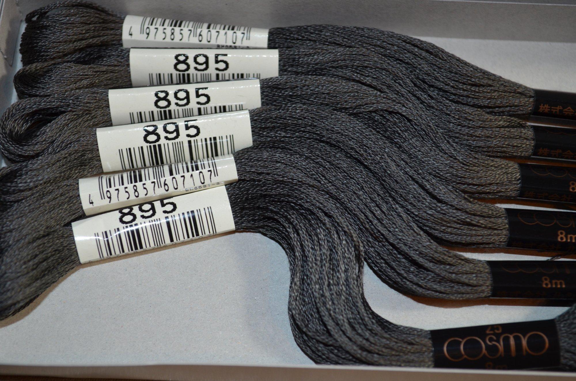 Cosmo Embroidery Floss 8.75Y  LEN2512-895  color 895