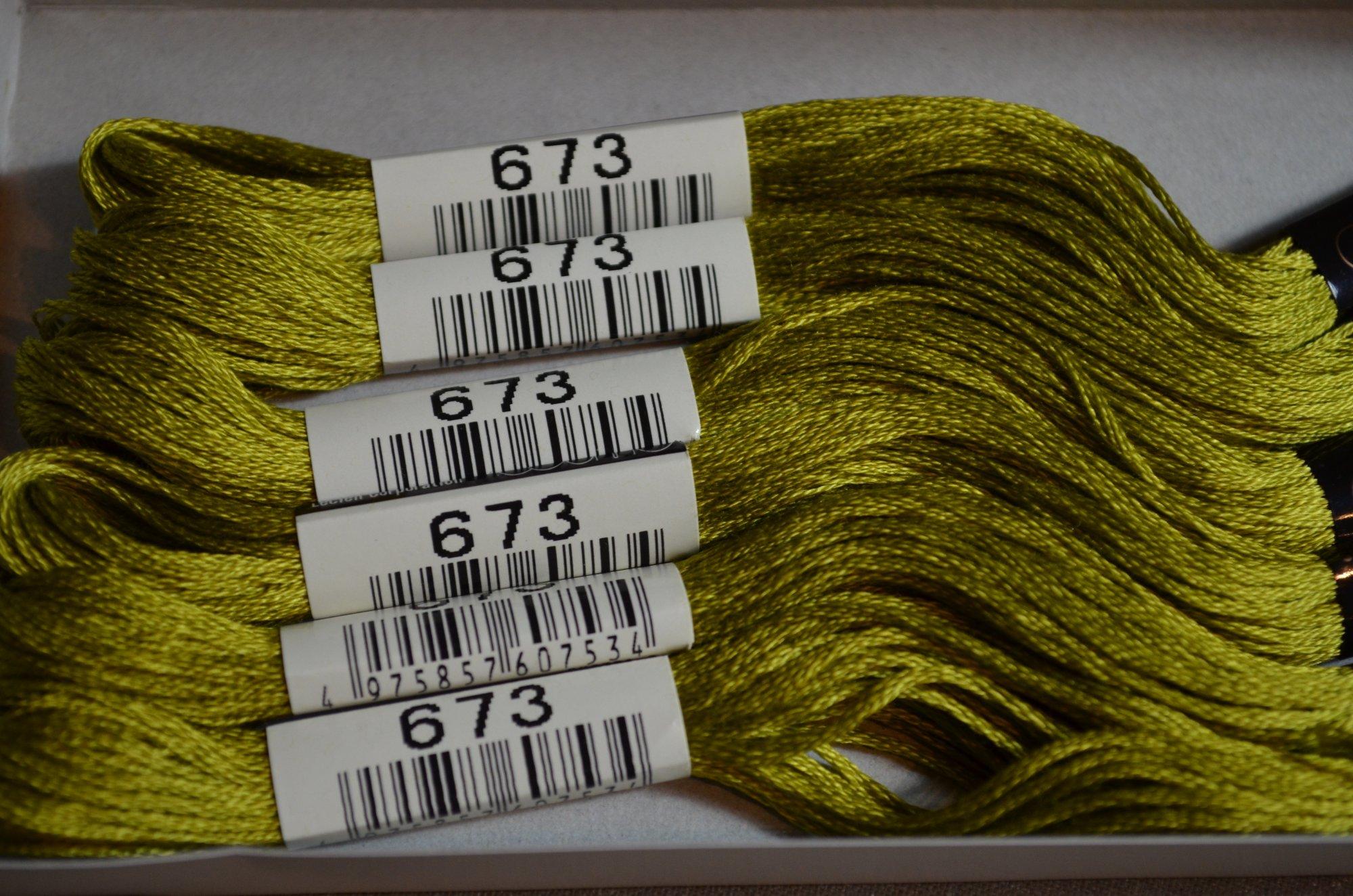 Cosmo Embroidery Floss 8.75Y  LEN2512-673  color 673