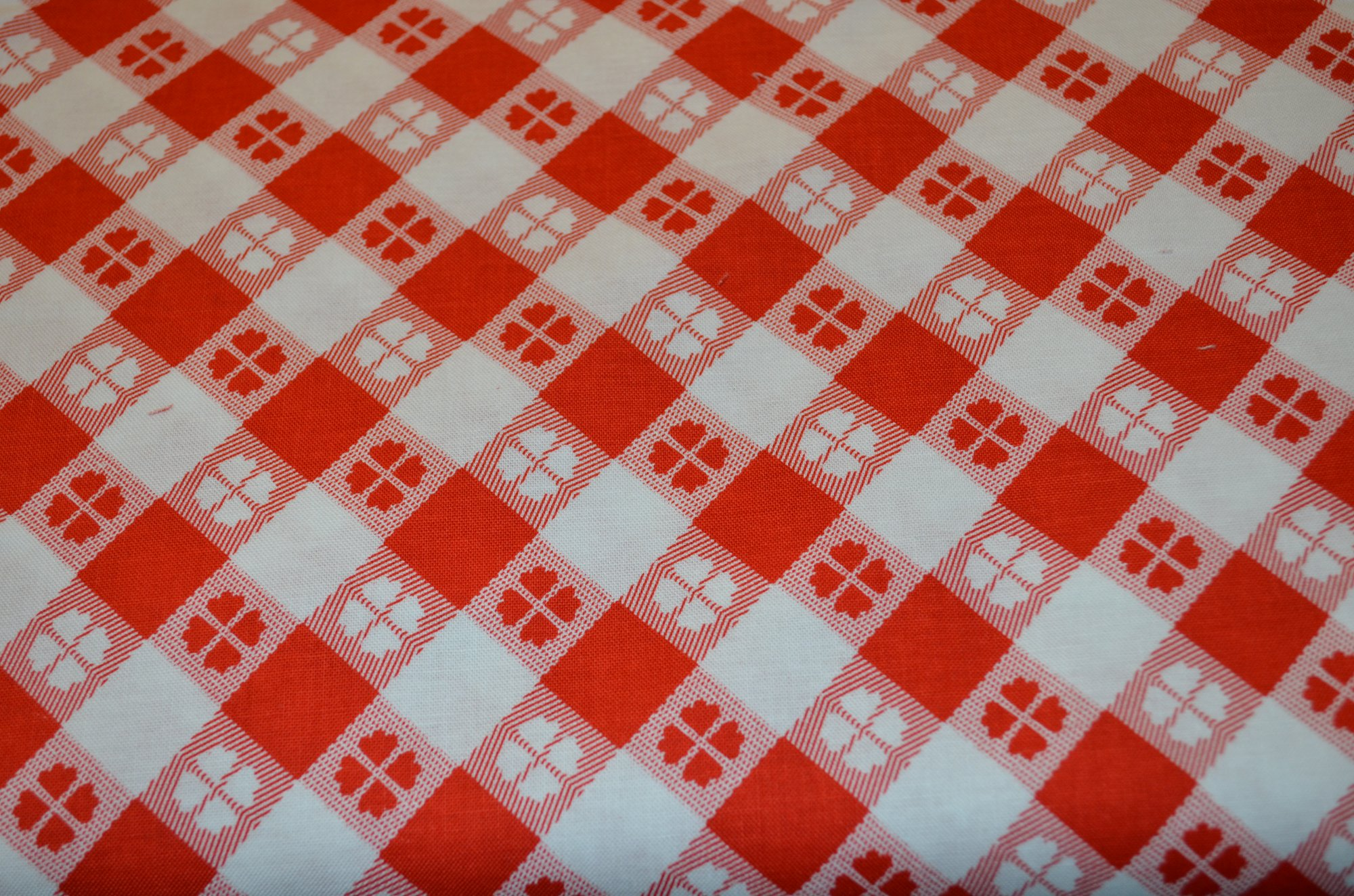 Riley Blake Glamper-licous Picnic Red Fabric By The Yard