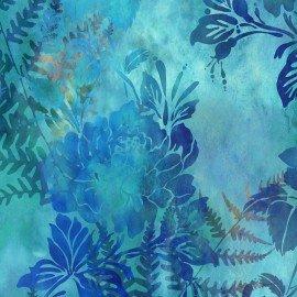 In The beginning Garden of Dreams IBFGDR1JYL-3 Lush Blue digital