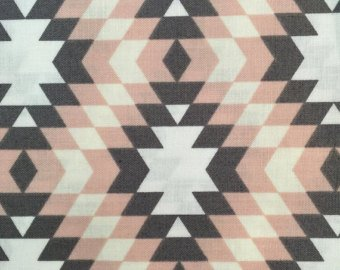 Camelot Nordic CAM2143101-2 Pink and Grey Geometric