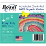 Bosal Katahdin On-A-Roll 2.25X50Yds.  390K-50 Batting for Jelly Roll Rug
