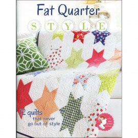 Fat Quarter Style BOOK Its Sew Emma ISE904