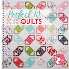 Perfect 10 Quilts Book By: Its Sew Emma ISE926