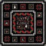 Maywood Studio Most Wonderful Time Flannel Kit KIT-MASWIJ 72 X 72