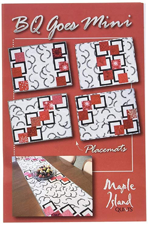 BQ Goes Mini PATTERN Maple Island Quilts MIQ828