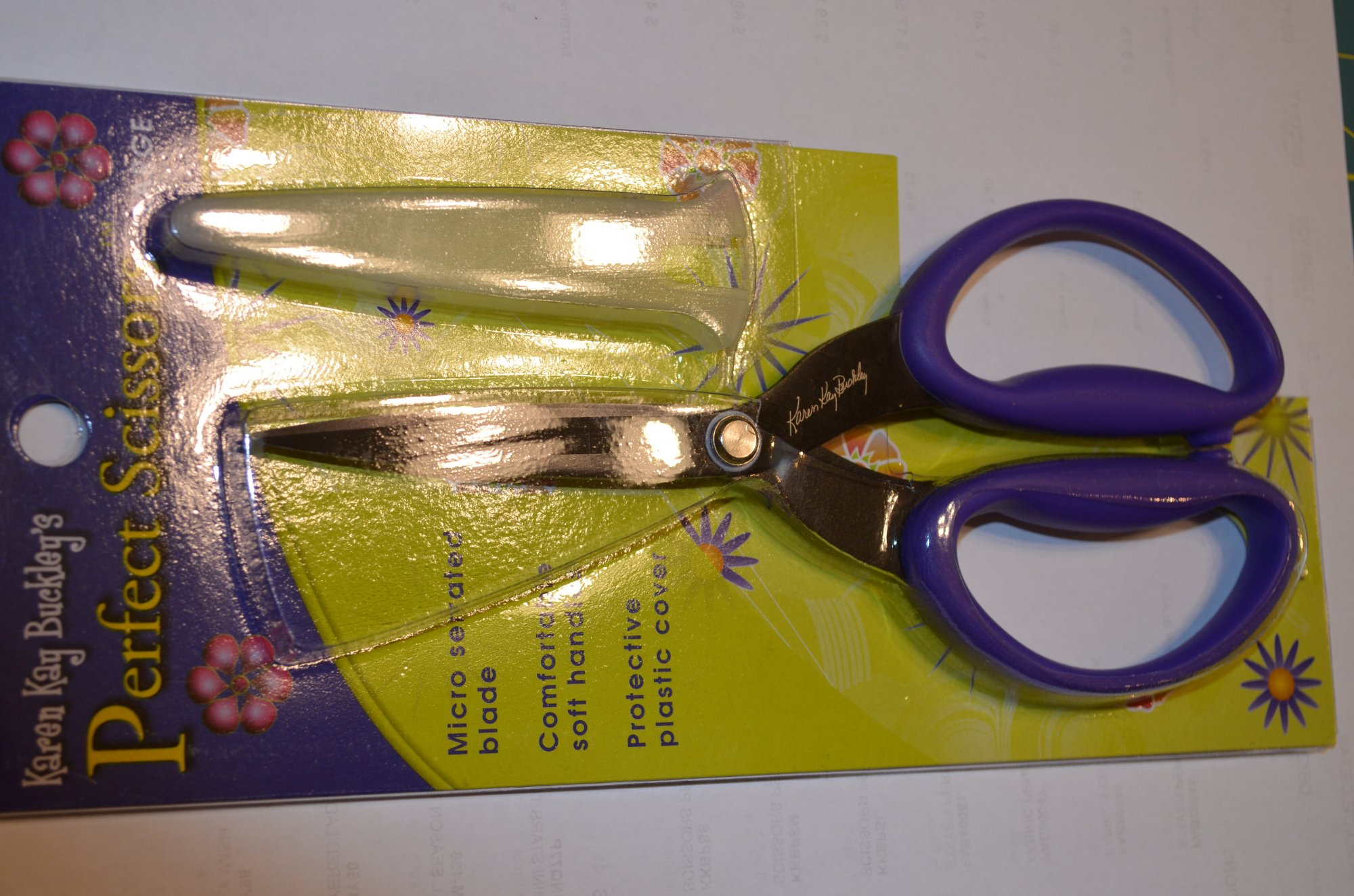 Perfect Scissors Large Purple KKBPSL 7.5