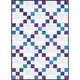 Maywood Studio  POD Irish Chain Java Batiks POD-MAS06-JAB Purple & Blues