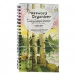 Password Book Birches  PWB04