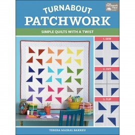 Turnabout Patchwork Book  By: The Patchwork Place TPPB1461