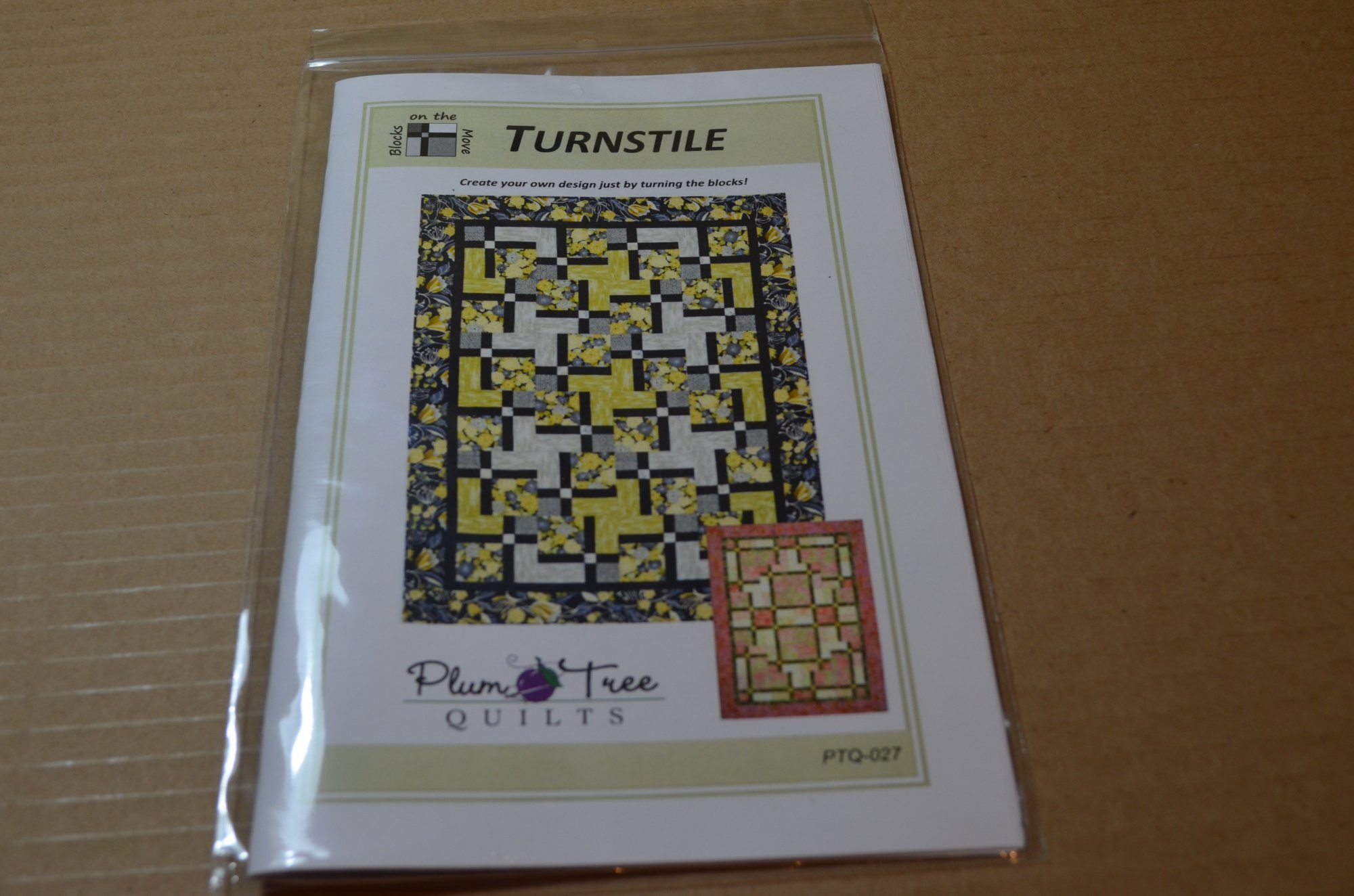 TURNSTILE PATTERN By: Plum Tree  PTQ027
