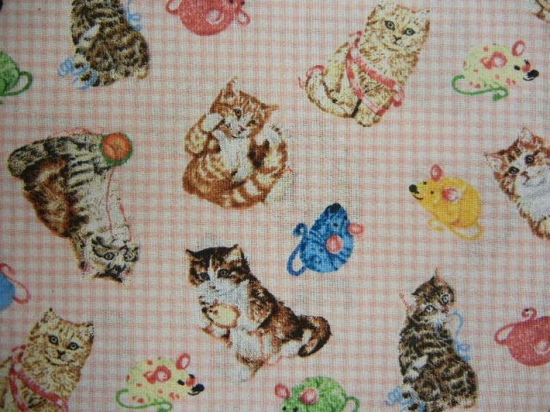 Quilting Purr-fection-Pink