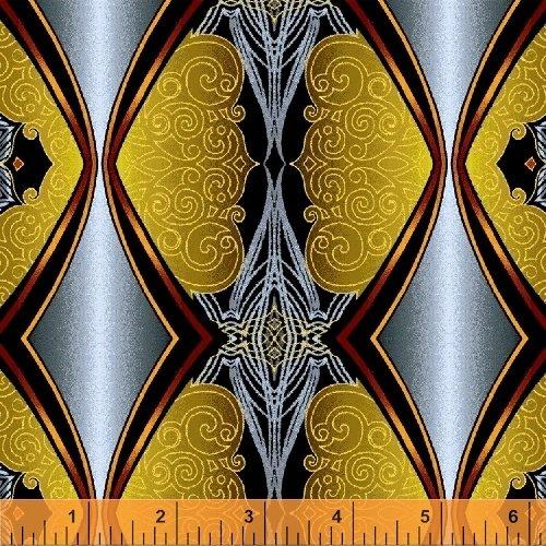 Mystique-Grey Stripe w/Metallic