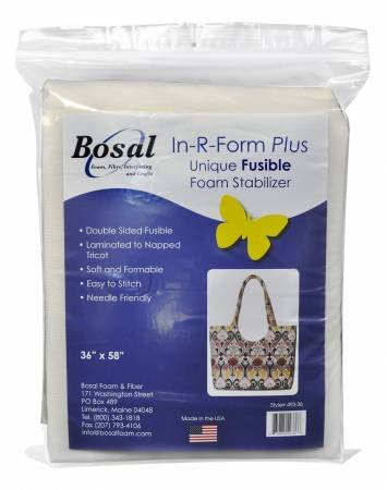 In-R-Form Plus-Double Sided Fusible Foam Stabilizer
