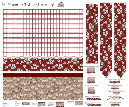 Farm to Table-Red-Apron panel