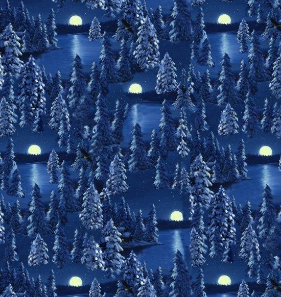 Let It Snow-Moon scene
