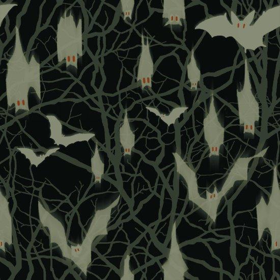 Fright Night-Glow in the Dark-Bats
