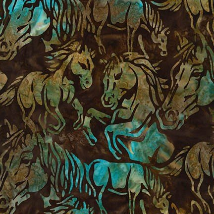 Santa Fe Trail 5-Russet-Horses