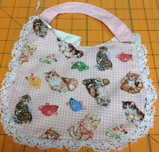 Bibs by Janice-Pink