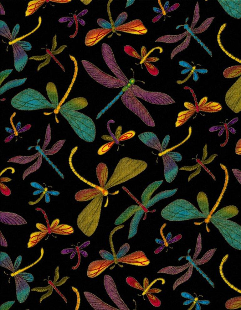 Dragonflies-Black