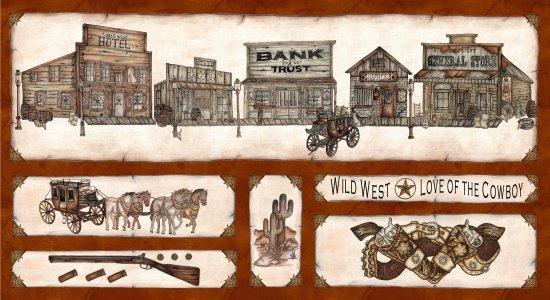 Western Album II-Panel-Brown-Town