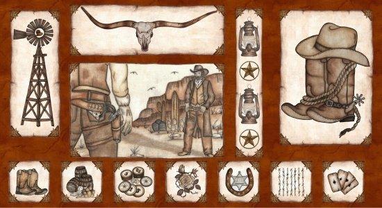 Western Album II-Panel-Brown-Shootout