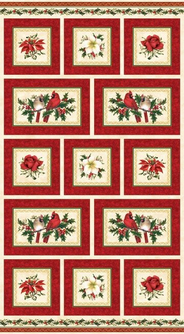Xmas Traditions-Panel-Red