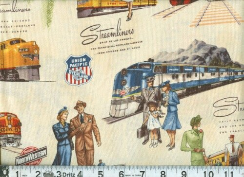 Union Pacific-Ivory-Trains