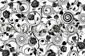 Jet Black-Roses
