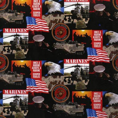 Military Prints-Marine
