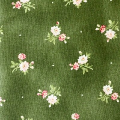 My Secret Garden-Green-small floral