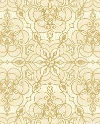 Luminous Lace- gold/cream