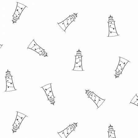 Ramblings Fun-White on White Lighthouses