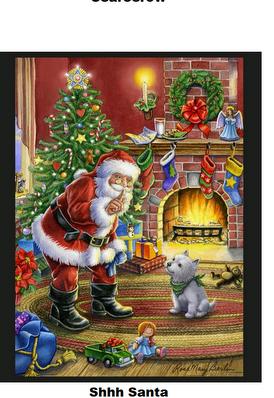 Shhh Santa-Digital Panel