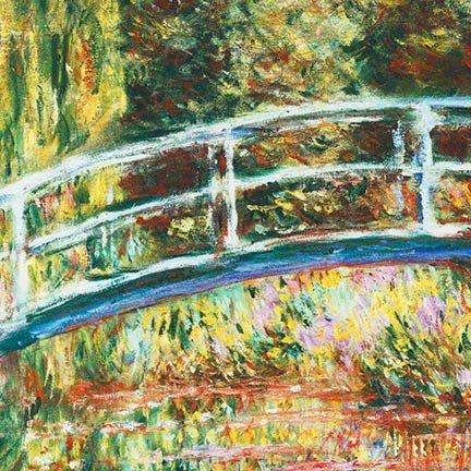 Claude Monet-Garden Digital Panel