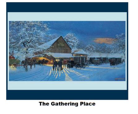 The Gathering-Digital Panel-36 x 42