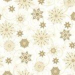 Elegant Christmas-Snowflakes-Gold