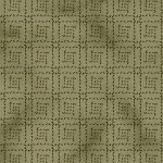 Ginger & Spice-Green-Stitched Squares