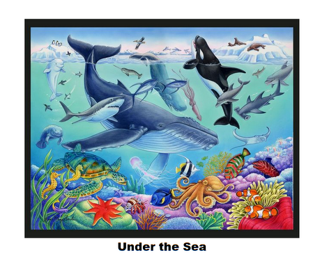 Under the Sea-Digital Panel
