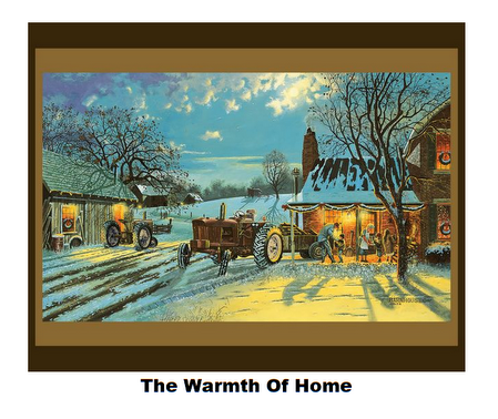 The Warmth of Home-Digital Panel