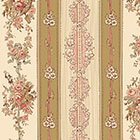 Wildflower Woods-Beige Stripe
