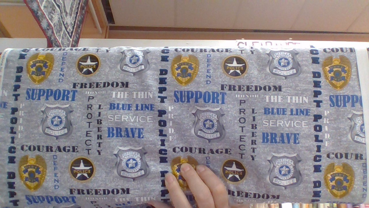 Military Prints-Police-Grey