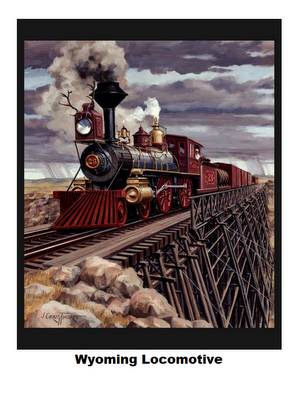 Wyoming Locomotive-Panel-Digital